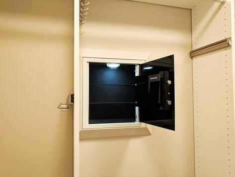 52 Silver Wall Safe ideas in 2021 | wall safe, custom closet company, silver walls