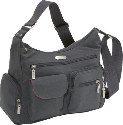 20b3514f898f baggallini Everywhere Bagg Charcoal Fuschia - via eBags.com!