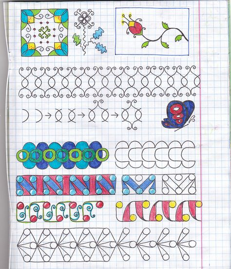 Use graph paper to develop consistency and accuracy