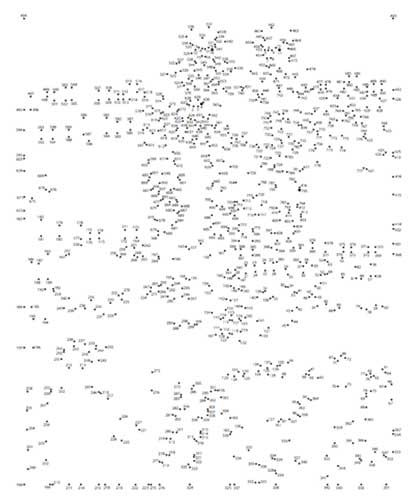 Extreme Dot To Dot Around The Usa Dots Dot To Dot Puzzles Connect The Dots