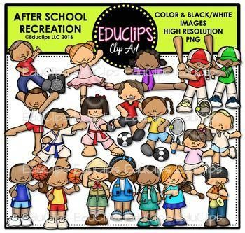 This Pack Contains Images Of Kids Doing A Variety Of After School Weekend Activities Images In Music Lessons For Kids Afterschool Activities Clip Art Freebies