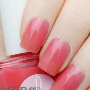 P.O.P WOW Neon Thermal Cream Collection Purple Pink Nail   Etsy