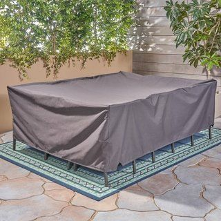 Black Patio Furniture Covers Ravenna Shield Outdoor Waterproof