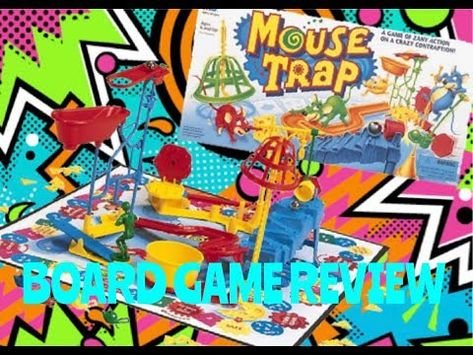 4k Milton Bradley Mouse Trap Board Game Review Fullmeltfusion Youtube In 2020 Mouse Trap Board Game Board Games Games