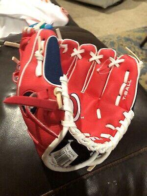 TCK Baseball Stirrups Large PRO 700D, 5in White Black Red