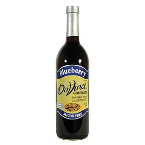 DaVinci Gourmet Blueberry Sugar Free Coffee Flavoring Syrup My new fall fave<3