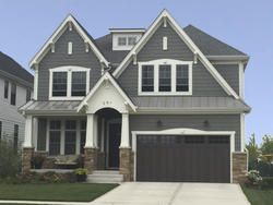 Ppg Prefinished 7 16 X 12 X 48 Reversible Fiber Shake Knights Armour Ppg Exterior House Options House Exterior Exterior Remodel