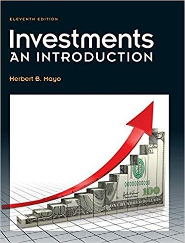 Investments An Introduction 11th Edition By Herbert B Mayo School Edition Investing Online Textbook