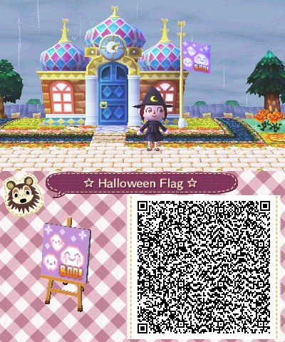 Made you all a flag to use during Halloween! :D | acnl | Pinterest ...