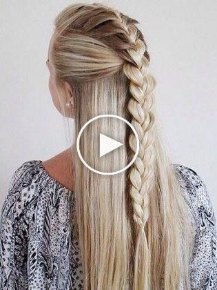Coiffures Faciles Pour Les Filles Aux Cheveux Xxl Coiffures Faciles Pour Les Filles Aux Cheve In 2020 Easy Hairstyles Cute Simple Hairstyles Long Hair Girl