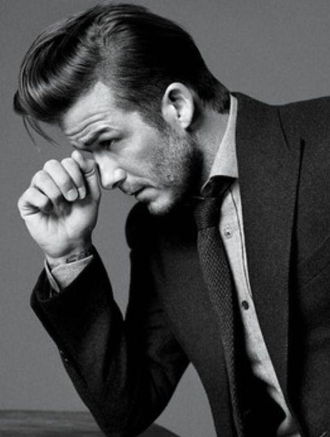 Look de star : David Beckham talks grey hairs?