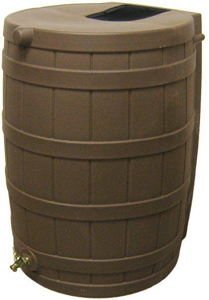 Gotta Get A Rain Barrel For The New House Amazon Com Sterling 156501 Rain Wizard 50 Oak Patio Lawn Garden Home Sweet Home Rain Barrel Rain Water Ba