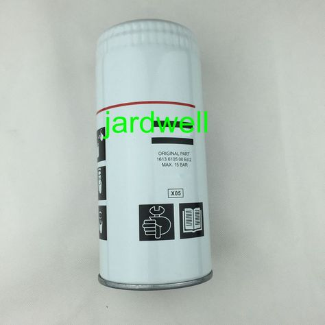 Oil Filter 1613 6105 00 Replecement Air Compressor Spare Parts For Atlas Copco Air Compressor Oil Filter Compressor