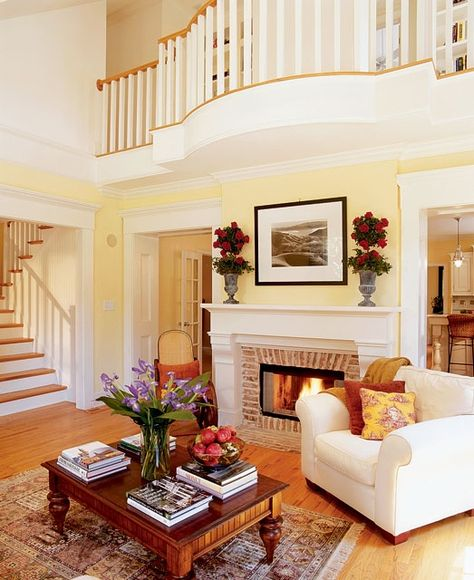 Southern Living Room: House Plans, Floor Plans And
