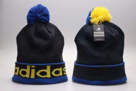 b40576e9e54 Adidas Winter Outdoor Sports Warm Knit Beanie Hat Pom Pom