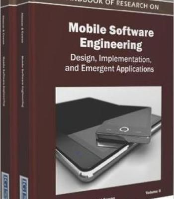 Handbook Of Research On Mobile Software Engineering Pdf With Images Engineering Software Engineer Engineering Design