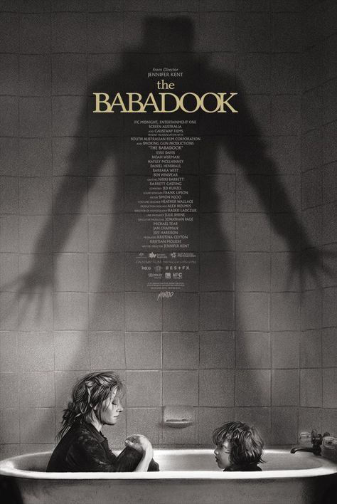 Limited The Babadook Poster Screen Printed by Artist Greg Ruth