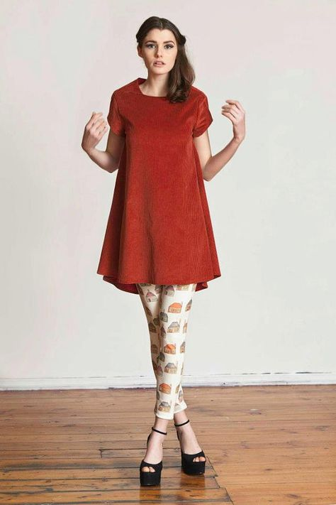 On Sale Red Cord Aline Dress On Sale by ApartofmeAPOM on Etsy, $190.00