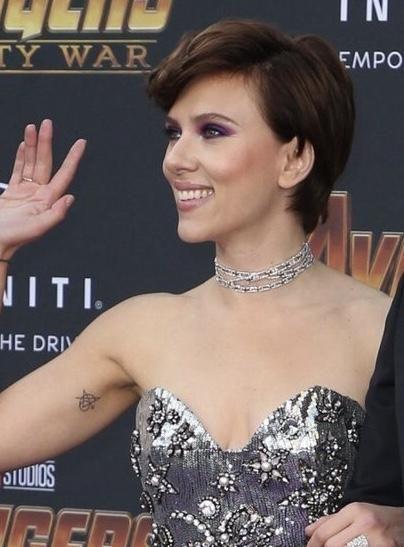 Image Result For Scarlett Johansson Avengers Tattoo Avengers Tattoo Scarlett Johansson Scarlett Johansson Tattoos