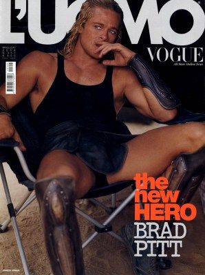 brad pitt magazine covers | wife/wife Brad Pitt was sold to us as a body and not much else. Brad ...