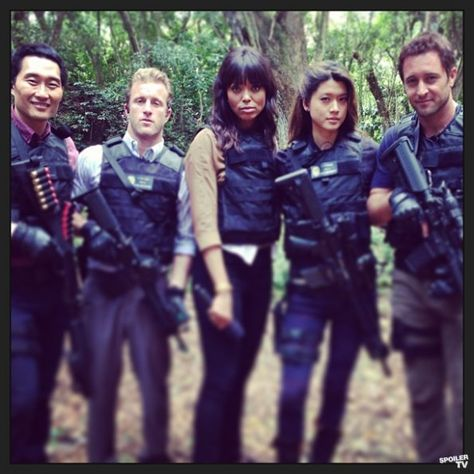 Photos - Hawaii Five-0 - Season 3 - Set Photos - 7th March 2013 -