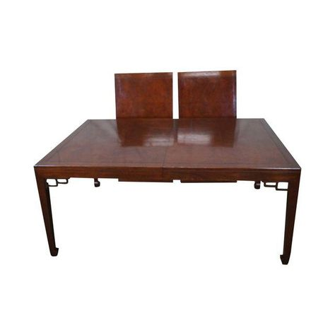 Image Of Baker Far East Collection Mahogany Dining Table With