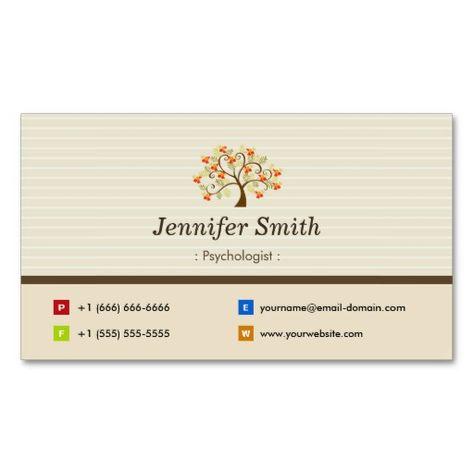 230 Psychology Business Card Templates Ideas Psychology Business Card Business Business Cards