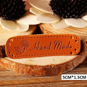 b61921fdbbb6 PU Leather Tags Patch | Arts, Crafts & Sewing | Sewing accessories ...
