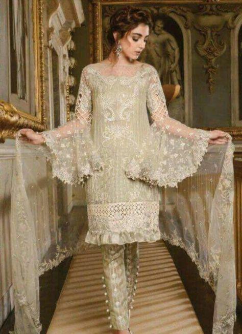 423597bf4d Pakistani Designer Dress Chiffon by Maria B - Buy More Designer Dresses by  Maria B at Nameera