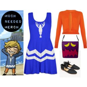 Toon Link Dress Outfit | Skater dress outfit