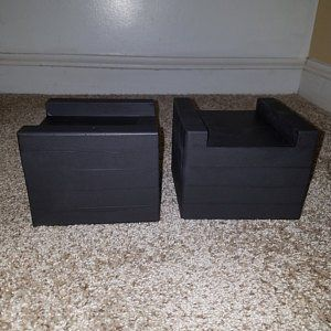 6 X 6 Pocket Furniture And Bed Risers Bed Risers Furniture