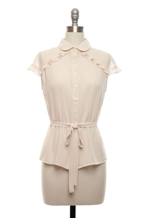 Flirting in the Fifties Blouse | Vintage, Retro, Indie Style Tops
