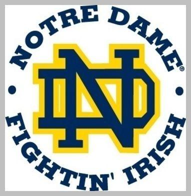 Notre Dame Fighting Irish T Shirt Transfer Iron On.