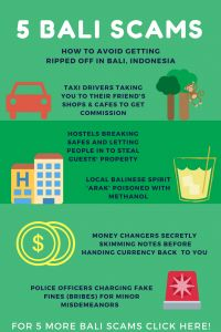 Avoid these common scams in Bali, Indonesia during your Bali vacation and make your trip to the paradise island one to remember! Check out the rest of our Bali blog for more Bali travel tips and Bali travel guides