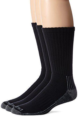 WHITE DICKIES 3 Pack Heavyweight Cushion Crew Socks