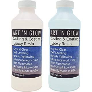 Clear Casting And Coating Epoxy Resin - 16 Ounce Kit | Fun crafty