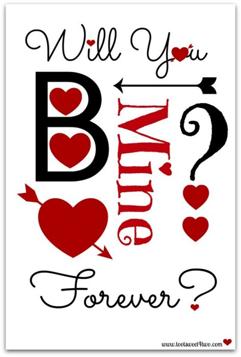 14 FREE Printables for Your Valentine