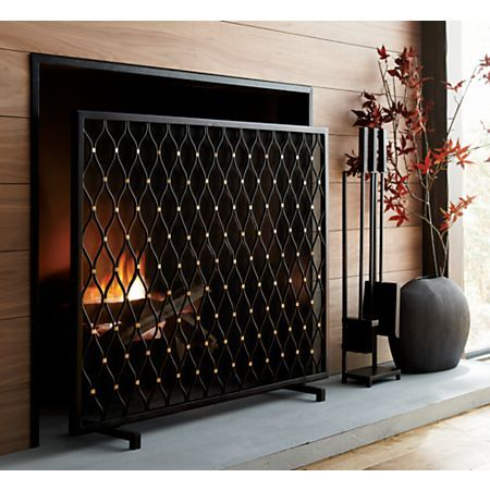 Corbett Bronze Fireplace Screen Fireplace Screens Diy Home Decor Easy Black Fireplace
