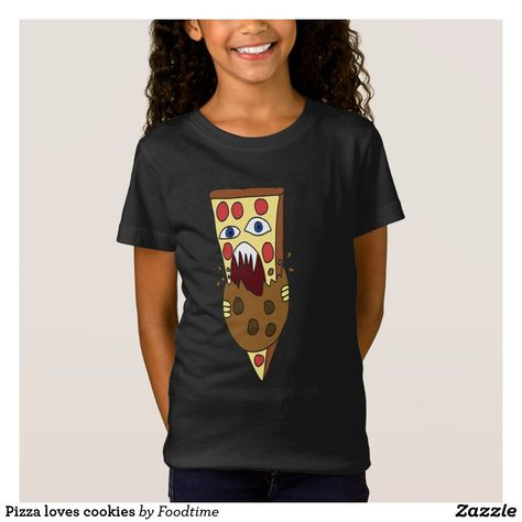 Pizza loves cookies T-Shirt
