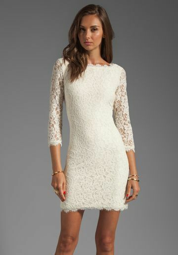 Nwt New Diane Von Furstenberg Dvf Zarita Ivory Lace Sheath Dress Size 10 Fashion Clothing S Lace White Dress Long Sleeve Lace Dress Revolve Clothing Dresses