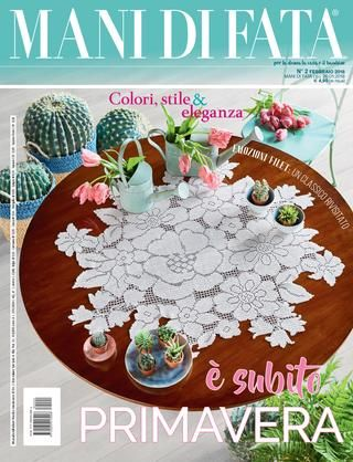 La Cucina Italiana Febbraio 2018 Pds Crochet Placemats Chic Linens Crochet Magazine