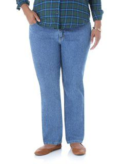 Just My Size Womens Apparel Womens Plus Size 5 Pocket Jean