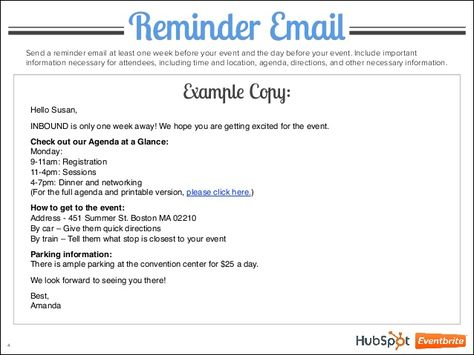 Image Result For Event Reminder Email Wording Birthday