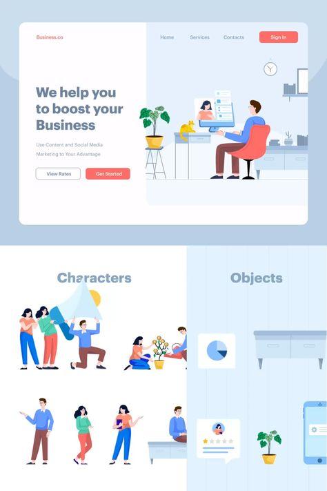 Tinuku - Animated Startup & Business Illustrations