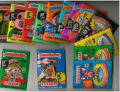 Ebay Sponsored 1985 To 1988 Garbage Pail Kids Series Packs Of 2 3 4 5 6 7 8 9 10 11 12 13 14 In 2020 Garbage Pail Kids Garbage Pail Kids Cards Kids Series