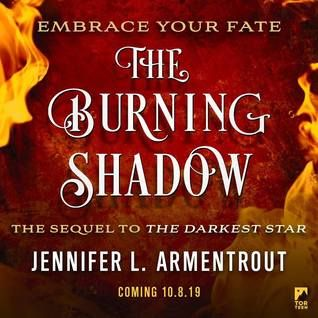 The Burning Shadow By Jennifer L Armentrout Shadow Personalized Books Burns