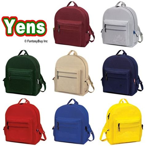 "Yens /""Elite/"" Sling Backpack Black 6BP-08"