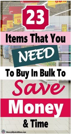 Buy In Bulk - 23 Items That You should Always Buy in Bulk