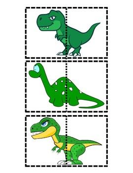 photograph about Dinosaur Matching Game Printable named Dinosaur Matching Sport Lesson Ideas Lesson programs for