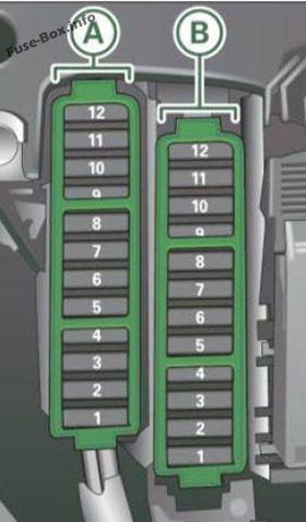 Audi A4/S4 (B8/8K; 2008-2016) fuses | Alex L.'s collection of 9 fuse box  ideasPinterest